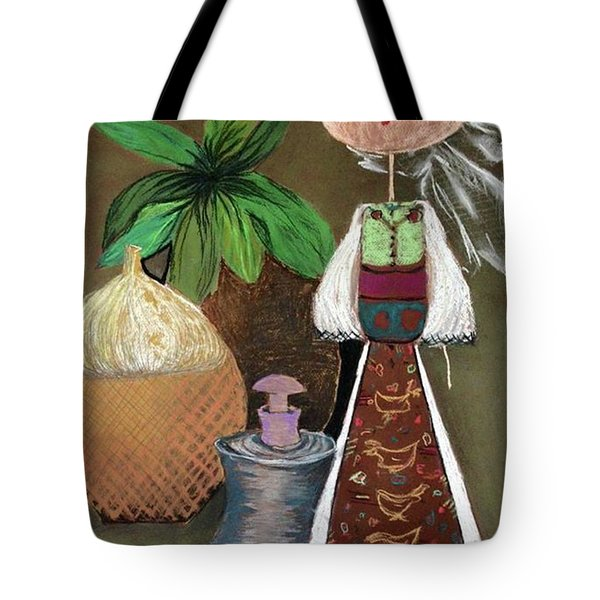 Still Life With Countru Girl Tote Bag