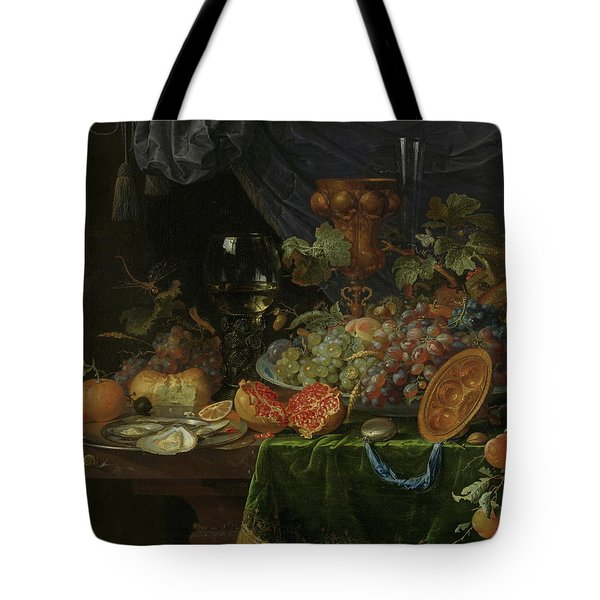 Still Life With Fruit And Oysters   Tote Bag