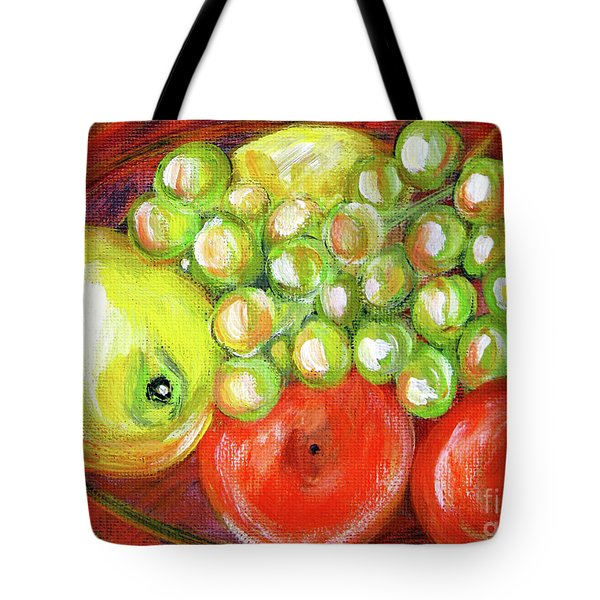 Still Life With Fruit. Painting Tote Bag