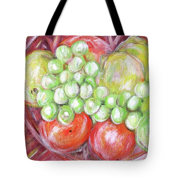 Still Life With Fruits. Harvest Time.painting  Tote Bag