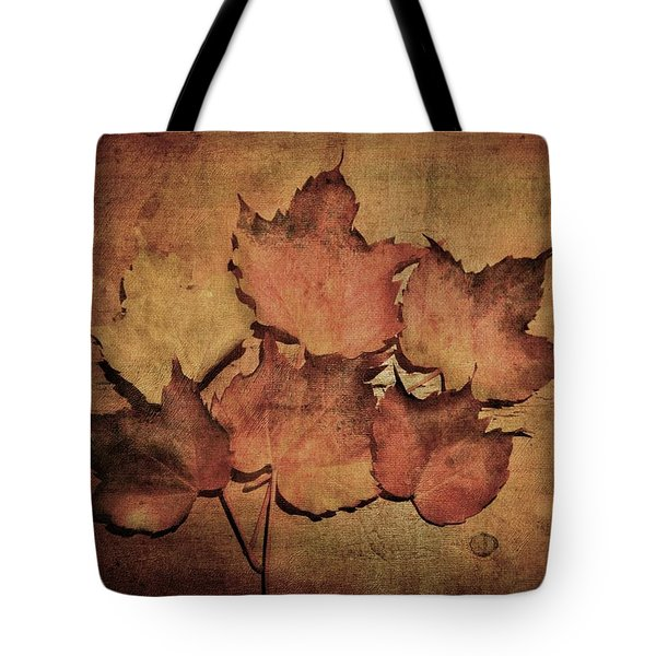 Still Life With Leaves Tote Bag