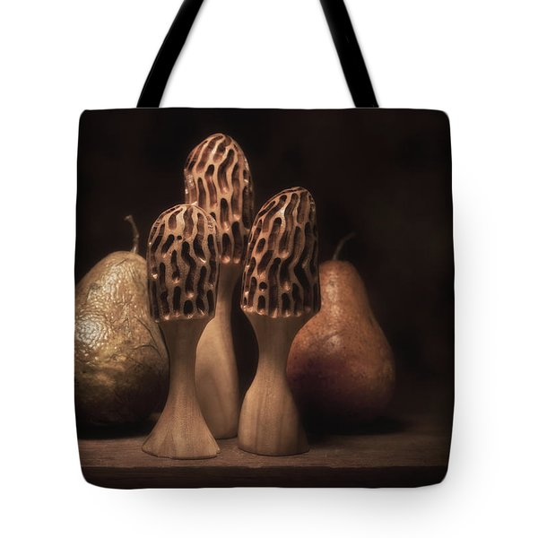 Still Life With Mushrooms And Pears I Tote Bag