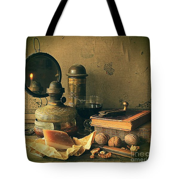 Still Life With Pork Fat Tote Bag