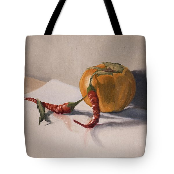 Still Life With Produce Tote Bag