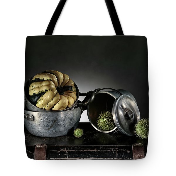 Still Life With Pumpkin Tote Bag