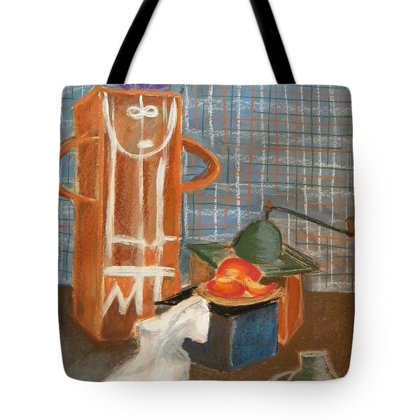 Still Life With Romanian Ceramic Tote Bag