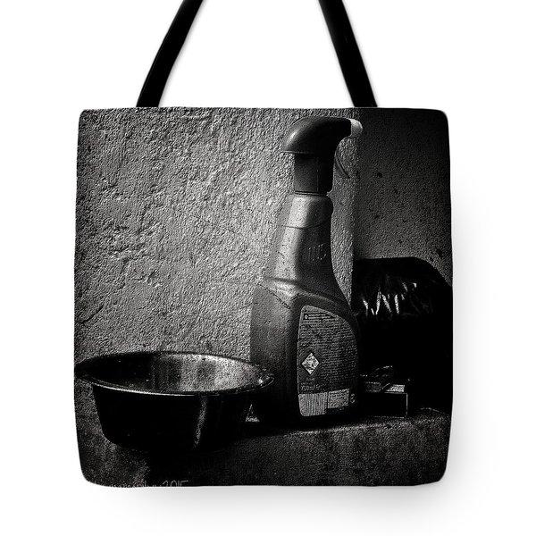 Still Life With Spraybottle - Still-leben Mit Spruehflasche Tote Bag