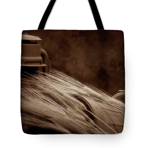 Still Life With Wheat I Tote Bag by Tom Mc Nemar