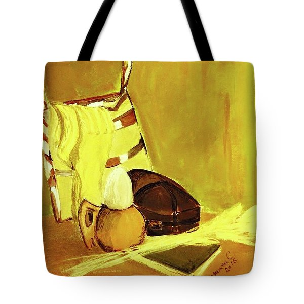 Still Life With Wool Socks Tote Bag