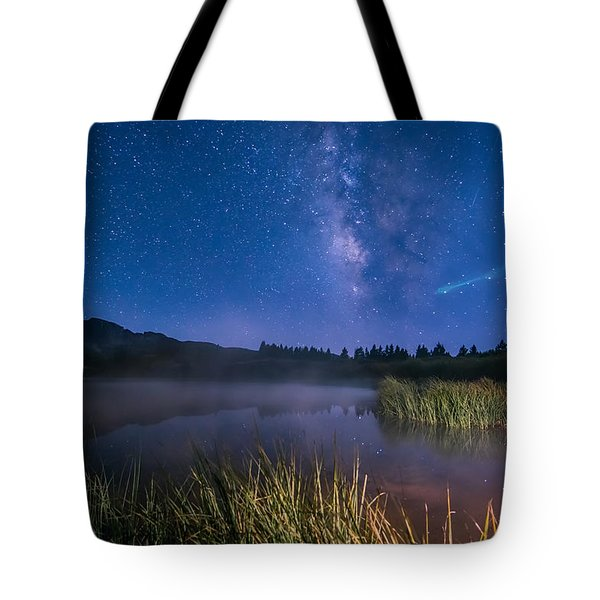Still Night At Upper Molas Lake Tote Bag