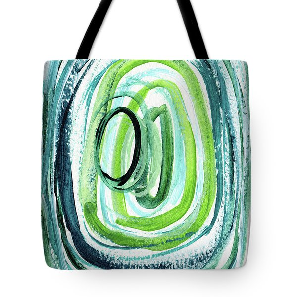 Still Orbit 9- Abstract Art By Linda Woods Tote Bag