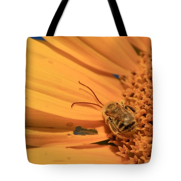 Tote Bag featuring the photograph Still Sleeping by Chris Berry