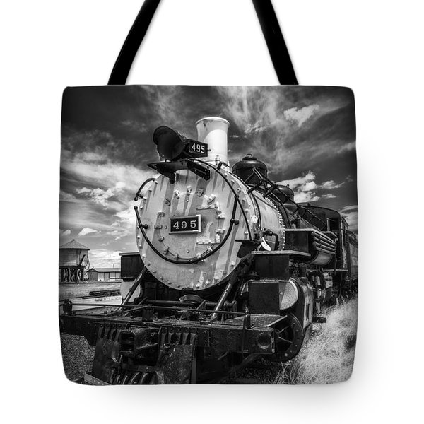 Tote Bag featuring the photograph Still Smoking by Bitter Buffalo Photography