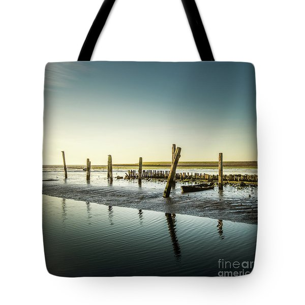 Tote Bag featuring the photograph Still Standing by Hannes Cmarits