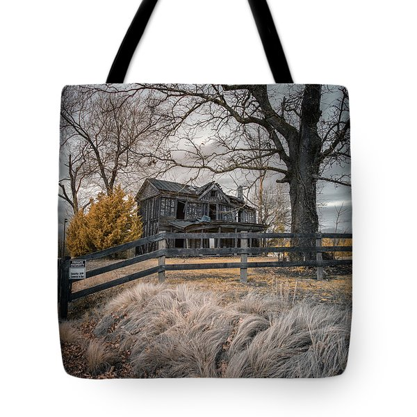 Still Standing Ir Tote Bag by Paul Seymour