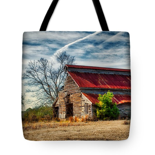 Tote Bag featuring the photograph Still Standing by Mark Guinn