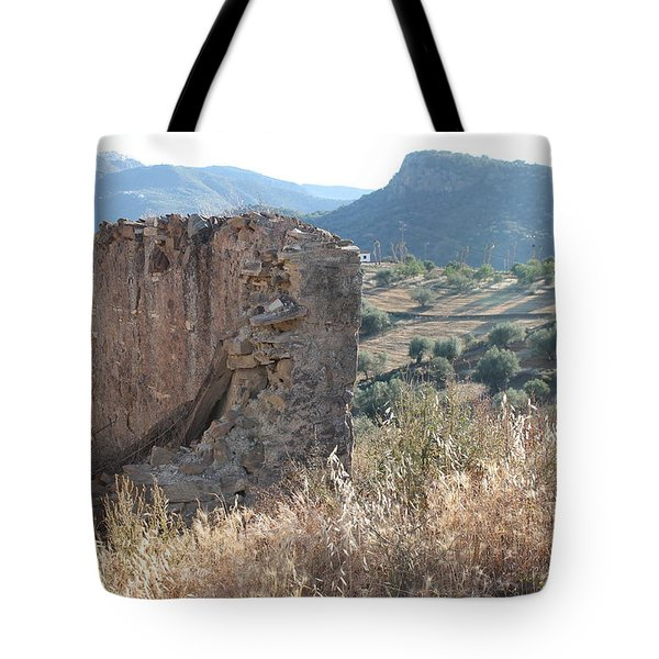 Tote Bag featuring the photograph Still Standing by Rosemary Colyer