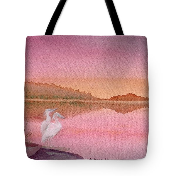 Still Sunset Tote Bag