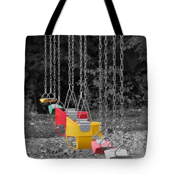 Still Swings Tote Bag