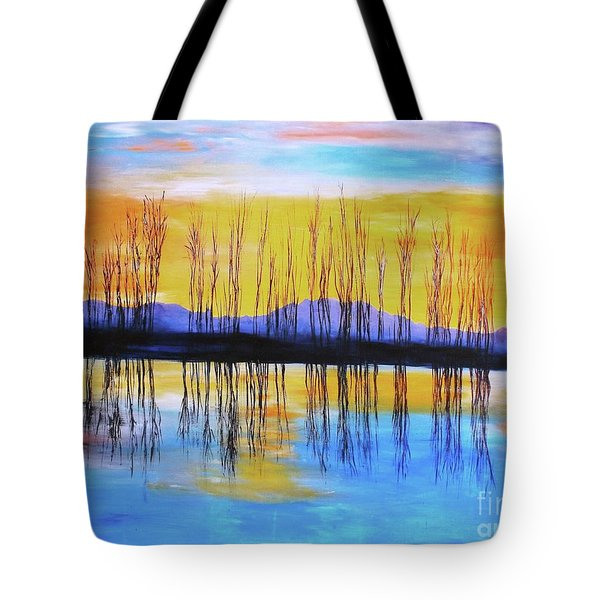 Still Waters From The Water Series  Tote Bag
