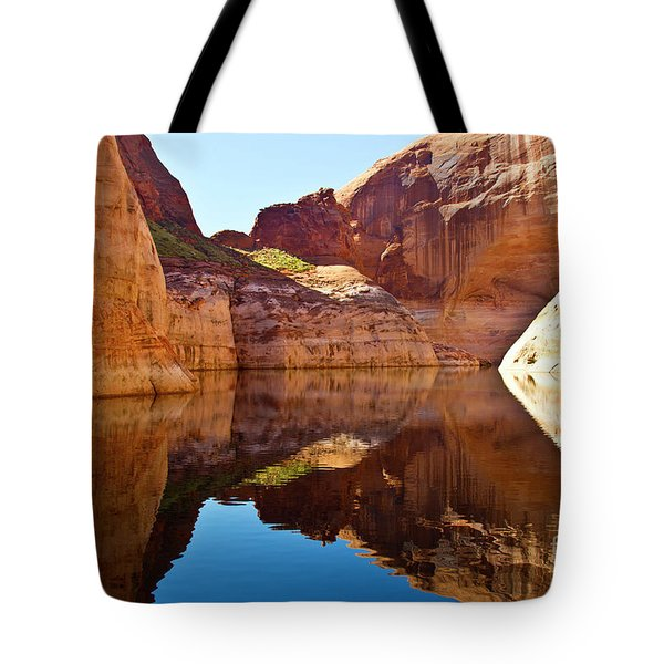 Still Waters Tote Bag by Kathy McClure