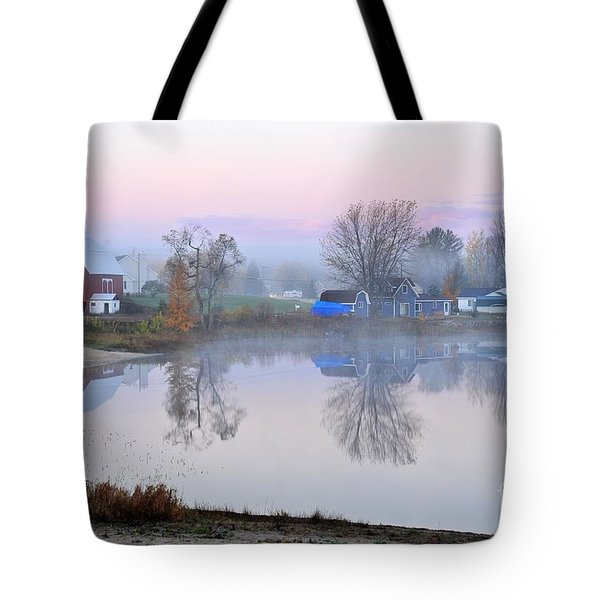 Still Waters On Stoneledge Lake Tote Bag