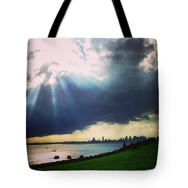 Still With The Gorgeous Light Boston Tote Bag