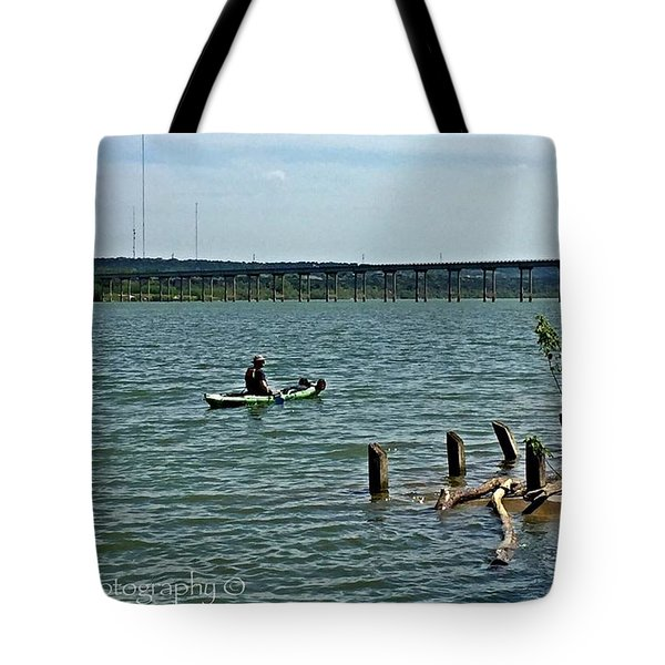 Stillhouse Lake Canoe - No.2016 Tote Bag
