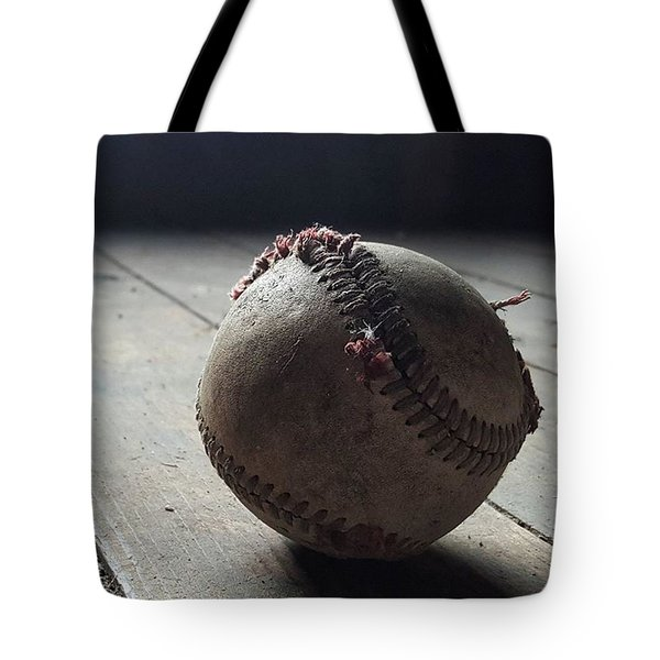 Baseball Still Life Tote Bag by Andrew Pacheco