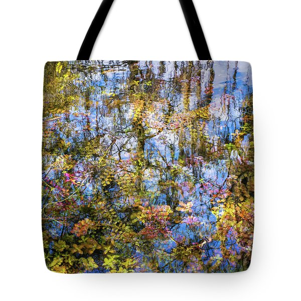 Stillness Holds Everything Tote Bag