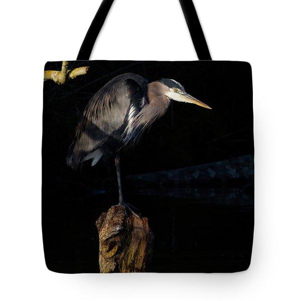 Stillness On The Hunt Tote Bag