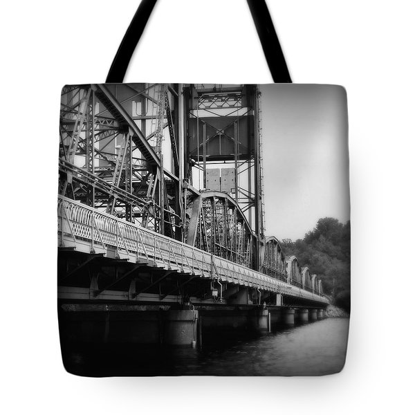 Stillwater Bridge  Tote Bag by Perry Webster