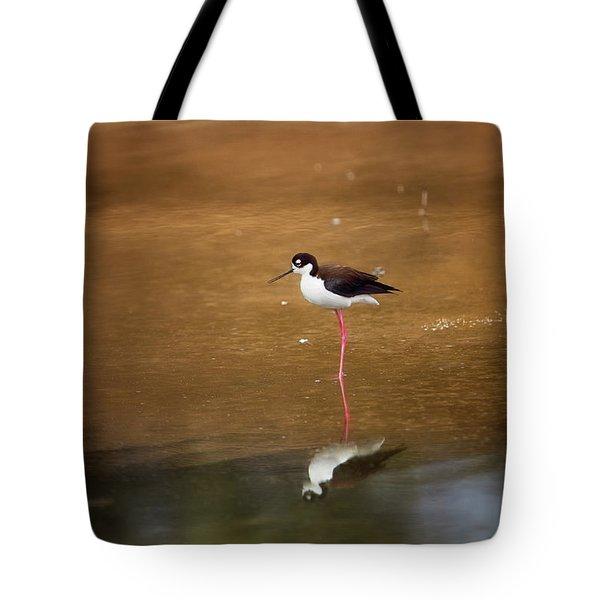 Stilt And Reflection Tote Bag