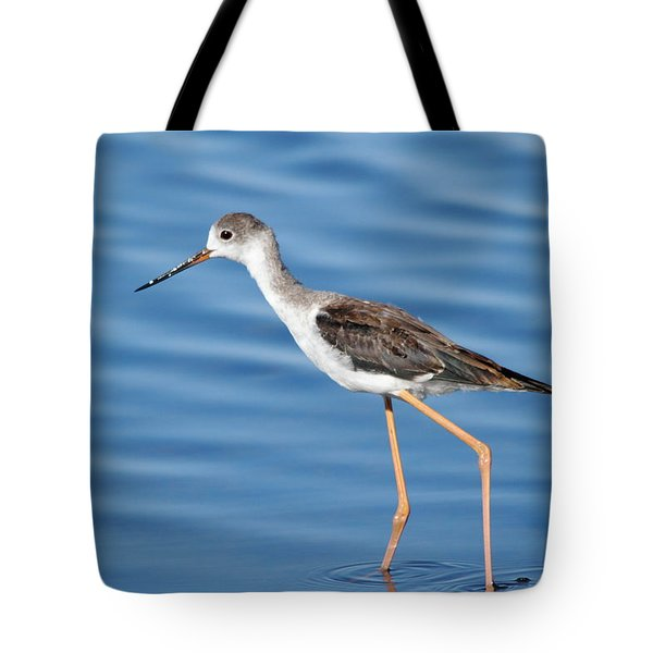 Tote Bag featuring the photograph Stilt by Richard Patmore