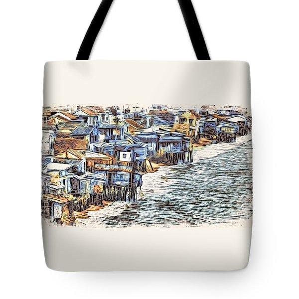 Stiltsville Tote Bag