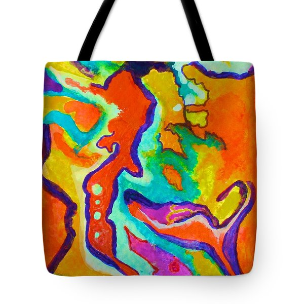 Stimulated Tote Bag