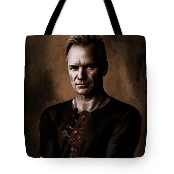 Tote Bag featuring the digital art Sting by Andrzej Szczerski