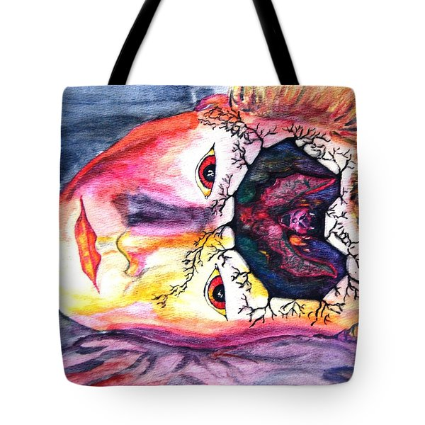Sting Having A Nightmare Tote Bag by Angela Murray