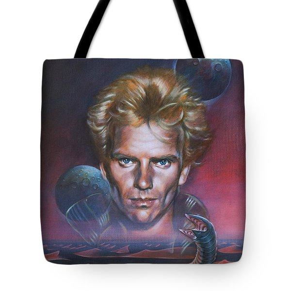 Sting In Dune Tote Bag
