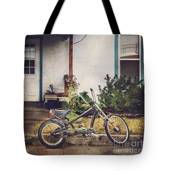 Sting Ray Bicycle Tote Bag