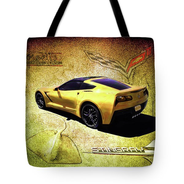 Stingray Tote Bag by Michael Cleere