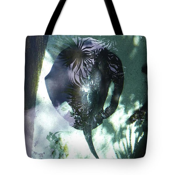 Tote Bag featuring the photograph Stingray Swim V by Francesca Mackenney