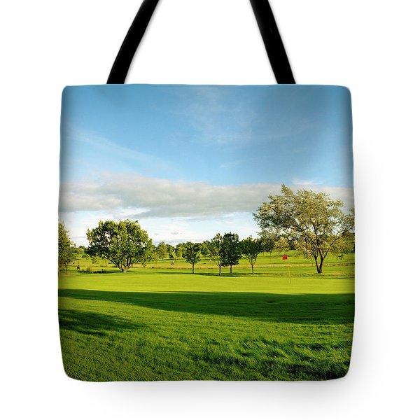 Stirling Golf Club 14th Tote Bag