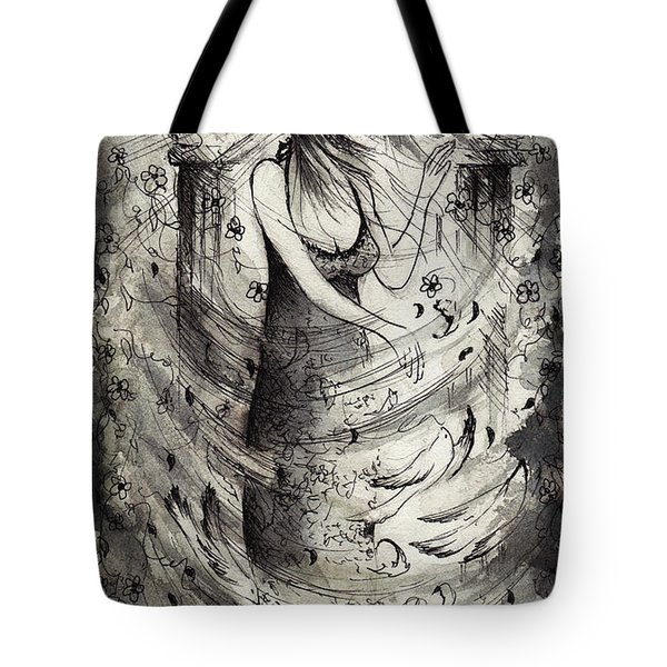 Stirring The Winds Tote Bag