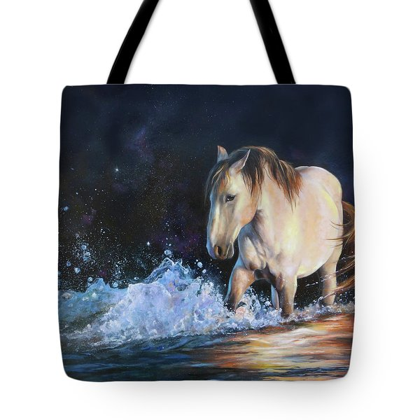 Stirring Up The Morning Tote Bag