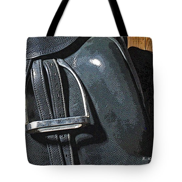 Tote Bag featuring the painting Stirrup by Roena King