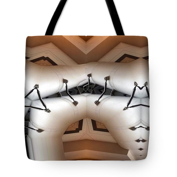 Stitched 1 Tote Bag by Ron Bissett