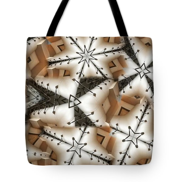 Stitched 3 Tote Bag by Ron Bissett