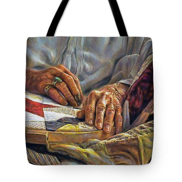 Stitches In Time Tote Bag