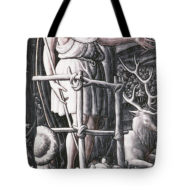 St.john The Baptist Preaching In The Wilderness Tote Bag
